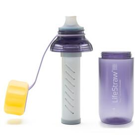 LifeStraw Play Bottiglia con filtro dell'acqua Bambino, viola/giallo